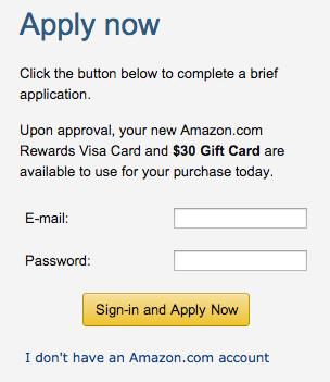 Amazon Credit Card - Apply 2