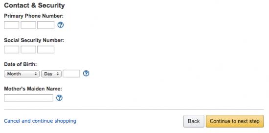 Amazon Credit Card - Apply 4