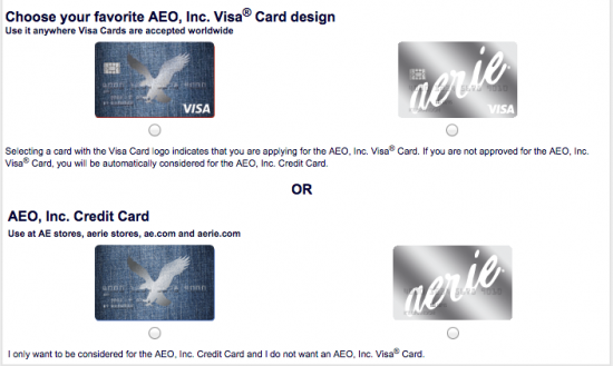 American Eagle Credit Card - Apply 2