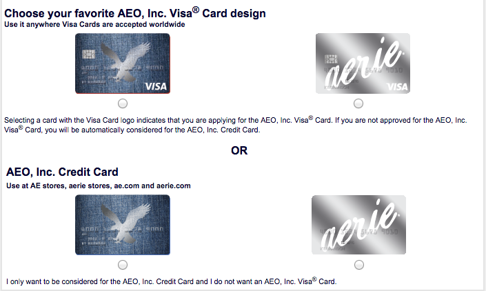 How to Apply for the American Eagle Credit Card