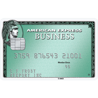 American Express Business Green Rewards Credit Card