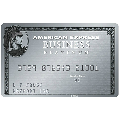 American Express Business Platinum Credit Card