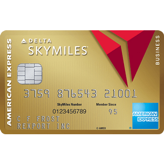 American Express Gold Delta SkyMiles Business Credit Card