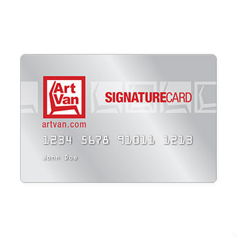 Art Van Signature Credit Card