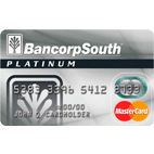 Bancorpsouth Platinum MasterCard Credit Card