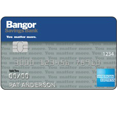 Bangor Savings Bank Cash Rewards American Express Credit Card
