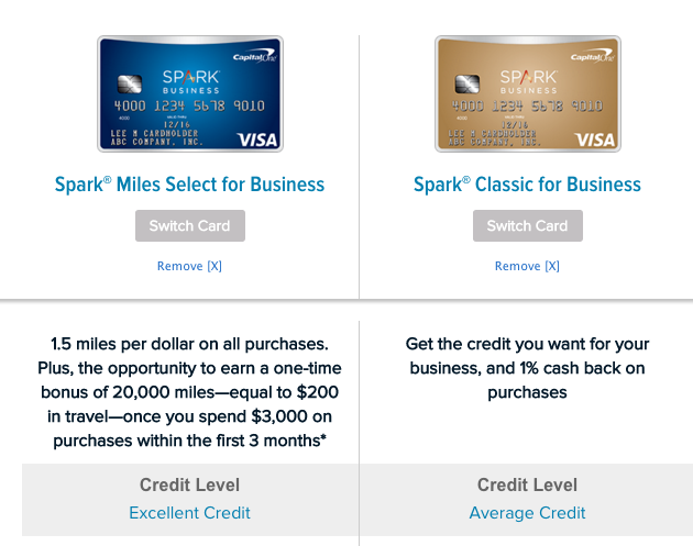 How to Apply for a Capital e Spark Business Credit Card