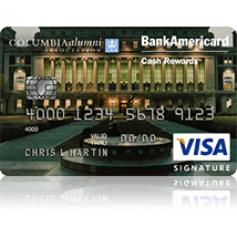 Columbia University Alumni Association Credit Card