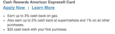Comerica Cash Rewards American Express Credit Card - Apply Link