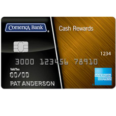 Comerica Cash Rewards American Express Credit Card