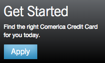 Comerica Credit Card - Apply Link