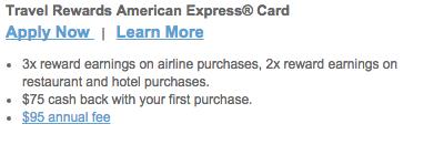 Comerica Travel Rewards American Express Credit Card - Apply Link