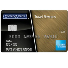 Comerica Travel Rewards American Express Credit Card