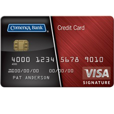 Comerica Visa Bonus Rewards Credit Card