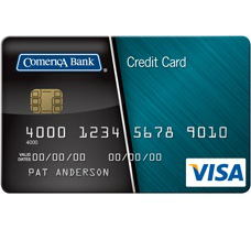 Comerica Visa College Rewards Credit Card