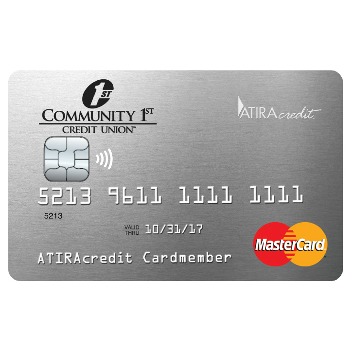 Community 1st Credit Union Platinum Rewards Mastercard Credit Card