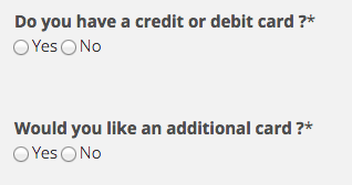 Continental Finance Matrix Credit Card - Apply 10