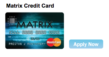 Continental Finance Matrix Credit Card - Apply 2