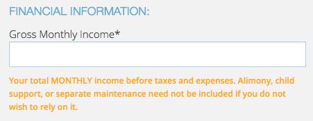 Continental Finance Matrix Credit Card - Apply 9