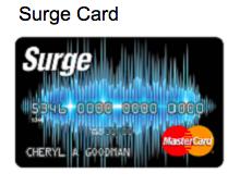 Continental Finance Surge Credit Card - Login 2