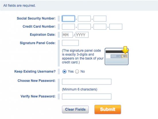 Credit One Unsecured Platinum Visa Credit Card - Login 3