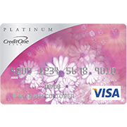 Credit One Unsecured Platinum Visa Credit Card