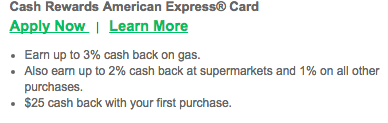Dairy State Bank Cash Rewards American Express Credit Card - Apply