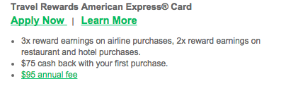 Dairy State Bank Travel Rewards American Express Credit Card - Apply