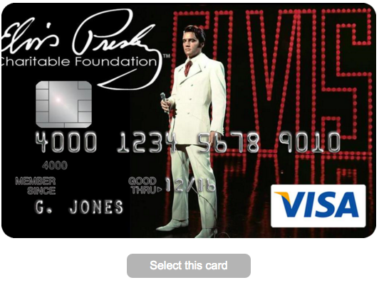 Elvis Presley Credit Card - Apply 2