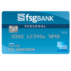 FSG Bank Cash Rewards American Express Credit Card