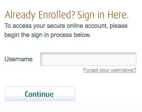 my premier credit card account login
