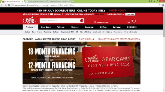 Guitar Center Online Payment : guitar center credit card login make a payment ~ Russianpoet.info Haus und Dekorationen