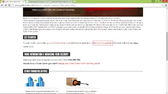 Guitar Center Home Page 2