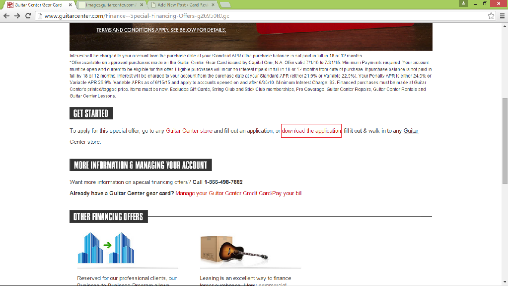 guitar center job application How to Apply for the Guitar Center Credit Card