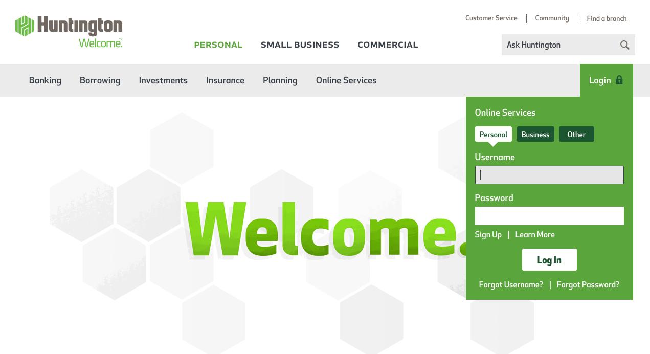 activate huntington bank debit card online