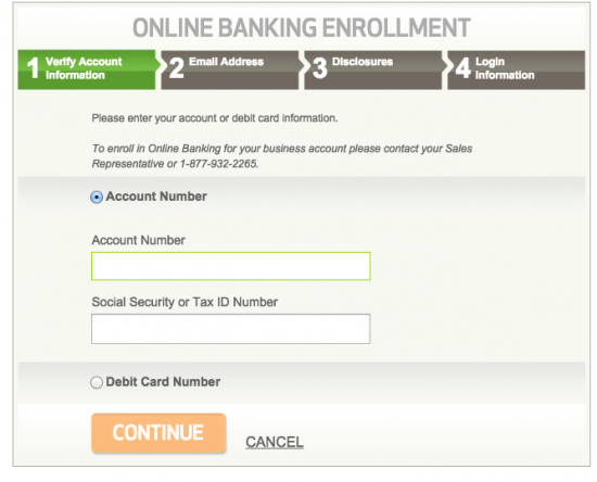 Huntington Credit Card - Login 5