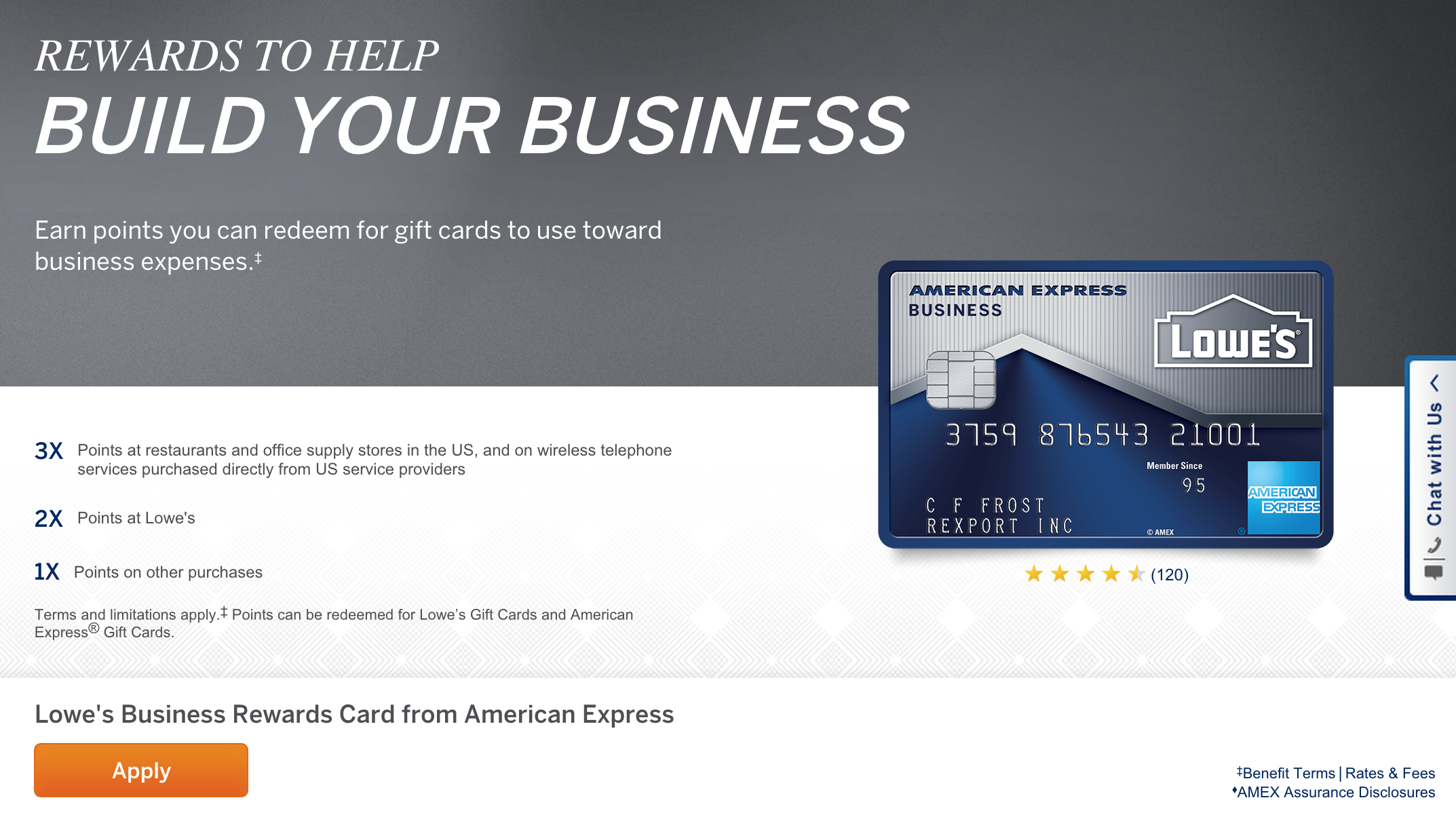 How to Apply for the Lowe\'s Business Rewards Credit Card