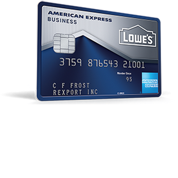 Lowe's Business Rewards Credit Card
