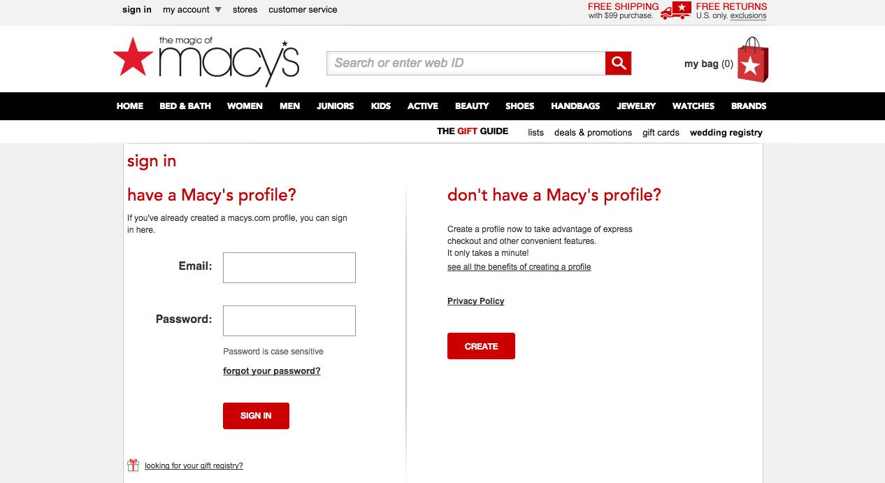 Macy's Credit Card Payment – Login – Address – Customer Service