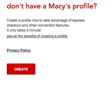 Macy's Credit Card - Login 4