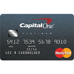 Capital One Platinum Credit Card Login | Make a Payment