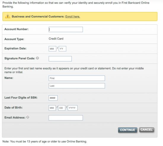 Scheels Visa Credit Card - Login 5