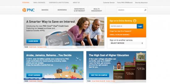 PNC CashBuilder Visa Credit Card Login   Make a Payment
