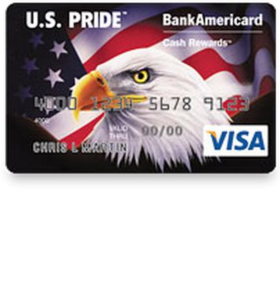 U.S. Pride BankAmericard Credit Card