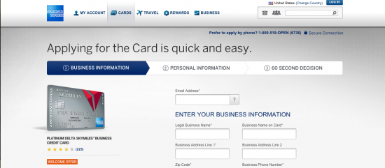 How to Apply for an American Express Platinum Delta