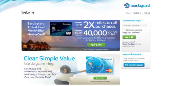 Barclaycard Rewards Mastercard Login | Make a Payment