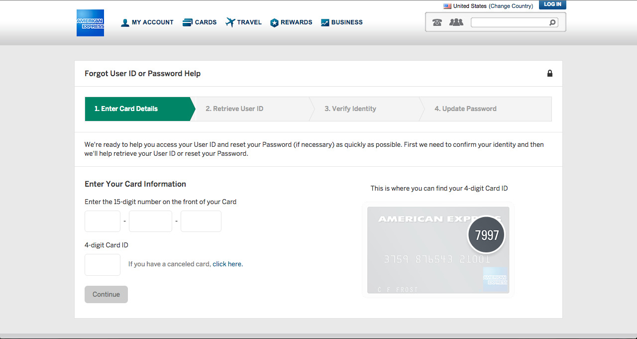 Am Ex Login >> Starwood Preferred Amex Credit Card Login Make A Payment