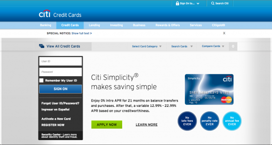Citibank Secure Login >> Citi Diamond Preferred Credit Card Login Make A Payment