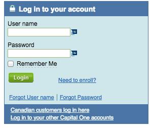 capital one mastercard credit card login pay bill