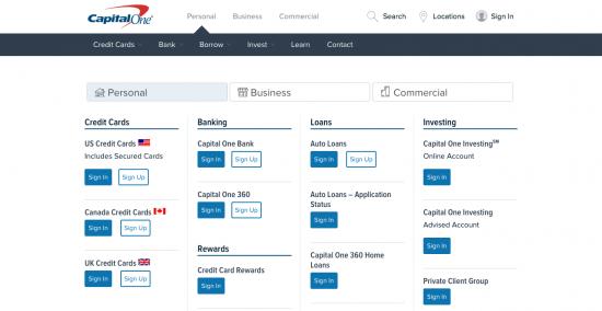 Capital e Credit Card Login Payment